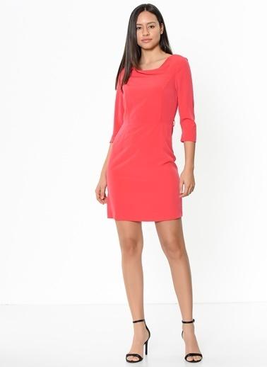 Limon Company Mini Kalem Elbise Mercan
